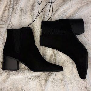Sleek Black Ankle Booties